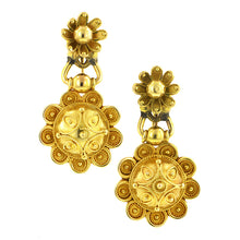 Victorian Etruscan Revival Earrings