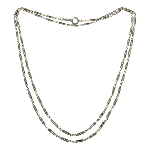 Antique Niello Chain :: Doyle & Doyle