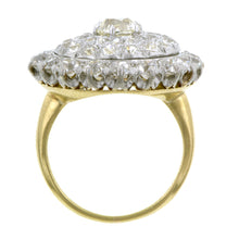 Antique Diamond Cluster Ring, 0.86ct