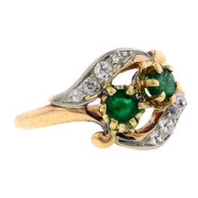 Vintage Emerald & Diamond Ring:: Doyle & Doyle