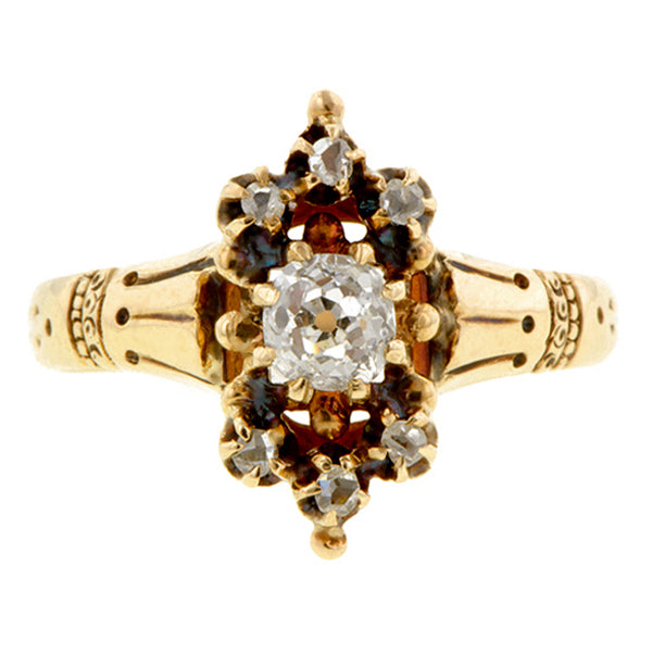 Victorian Diamond Ring, 0.60ct