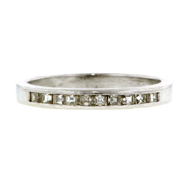 Estate Square Diamond Wedding Band:: Doyle & Doyle
