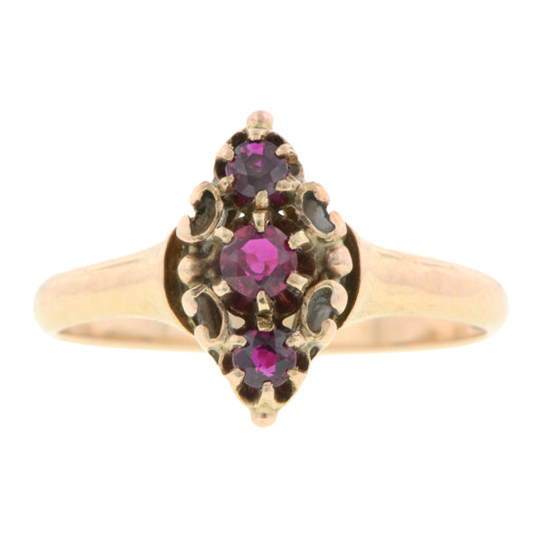 Victorian Ruby Ring:: Doyle & Doyle