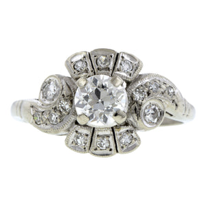 Vintage Diamond Engagement Ring, TRB 0.63ct:: Doyle & Doyle