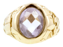 Art Nouveau Buff Top Amethyst Ring :: Doyle & Doyle