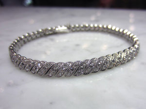 Art Deco Diamond Bracelet::Doyle & Doyle