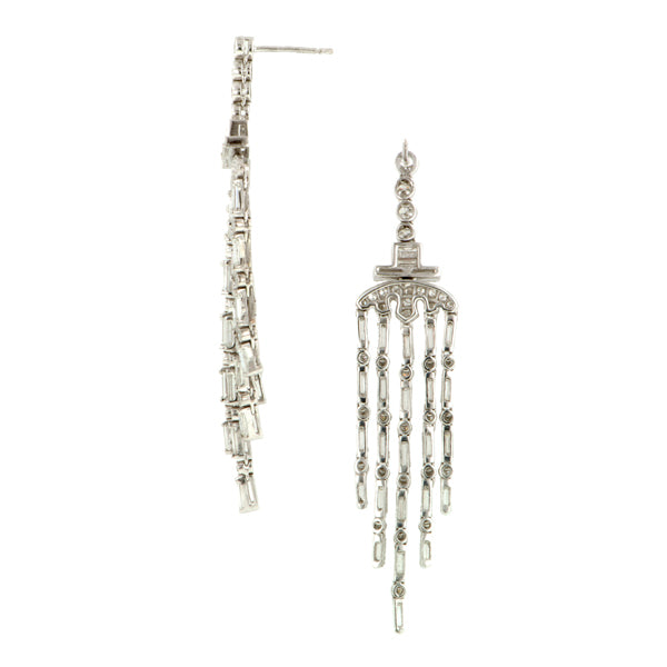 Diamond Drop Earrings:: Doyle & Doyle