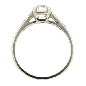 Vintage Engagement Ring, Old Euro 0.95ct:: Doyle & Doyle