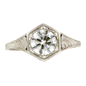 Vintage Engagement Ring, TRB 0.91ct:: Doyle & Doyle