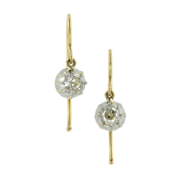 Antique Diamond Drop Earrings:: Doyle & Doyle