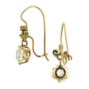 Victorian Diamond Drop Earrings:: Doyle & Doyle