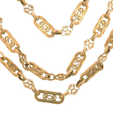 Antique Long Chain Necklace::Doyle & Doyle