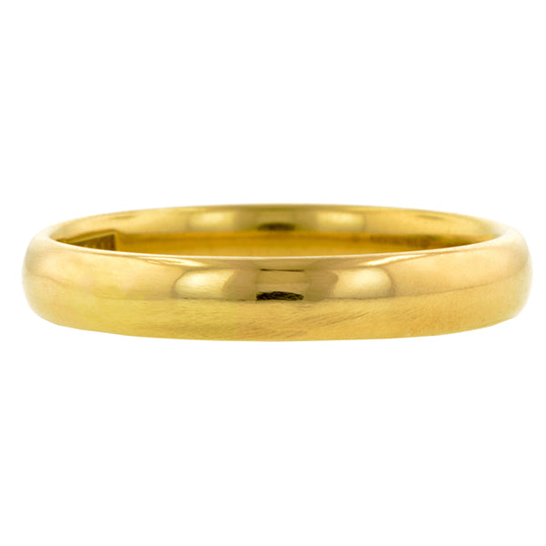 Vintage Gold Wedding Band:: Doyle & Doyle