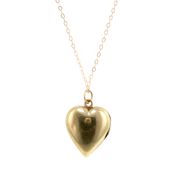 Victorian Heart Locket: