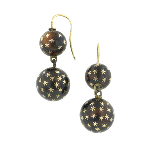 Antique Pique Drop Earrings:: Doyle & Doyle