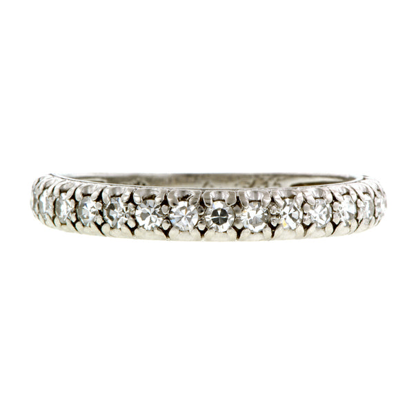 Art Deco Diamond Wedding Band:: Doyle & Doyle