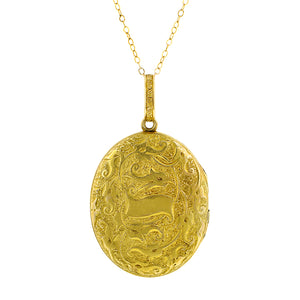 Victorian Oval Locket::Doyle & Doyle