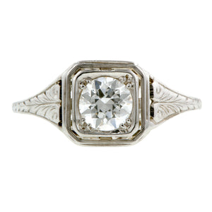 Vintage Engagement Ring, 0.52ct:: Doyle & Doyle
