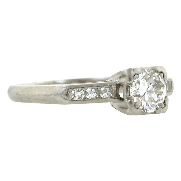 Vintage diamond Engagement Ring, TRB 0.50ct :: Doyle & Doyle