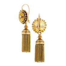 Antique DayNight Diamond Tassel Earrings :: Doyle & Doyle