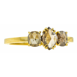 Cognac Rose Cut Diamond Ring- Heirloom by Doyle & Doyle
