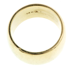 Gold Half Round Band:: Doyle & Doyle