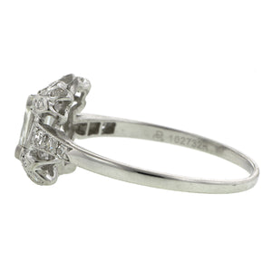 Vintage Diamond Engagement Ring, SQ.  0.91ct::Doyle & Doyle