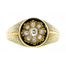 Victorian Diamond Cluster Ring::Doyle & Doyle