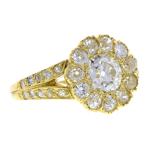 Vintage Diamond Engagement Ring, Old Euro 0.99ct :: Doyle & Doyle
