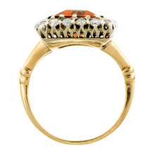 Vintage Citrine & Diamond Ring:: Doyle & Doyle
