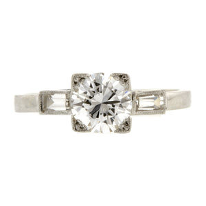 Vintage Engagement Ring, RBC 0.96ct : Doyle & Doyle