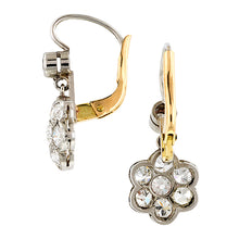Diamond Cluster Drop Earrings :: Doyle & Doyle