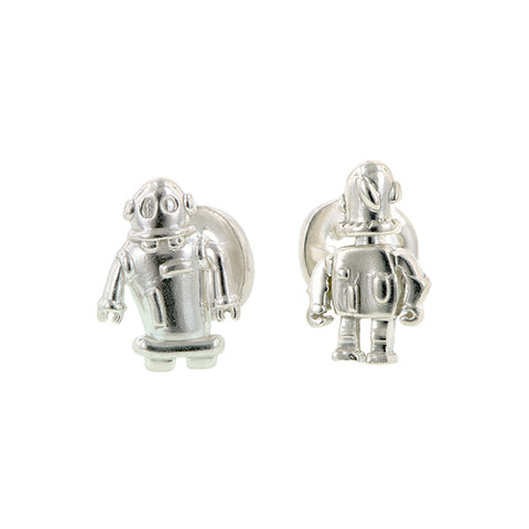 Robot Cufflinks- Heirloom by Doyle & Doyle