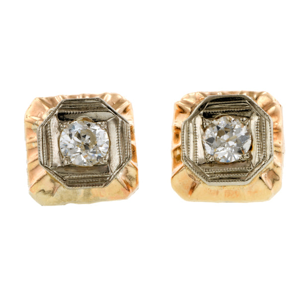 Vintage Diamond Earrings