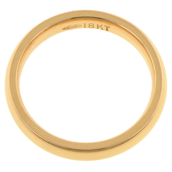 3mm 18k Comfort Fit Band :: Doyle & Doyle