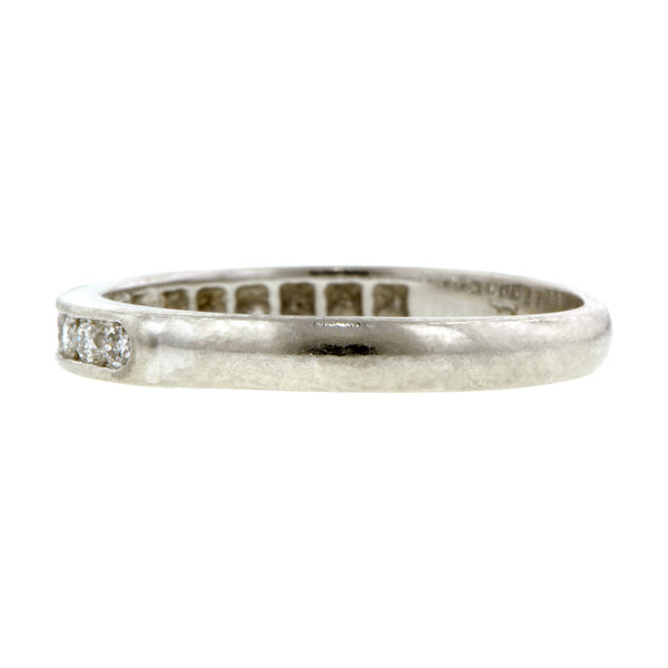 Estate Diamond Wedding Band:: Doyle & Doyle