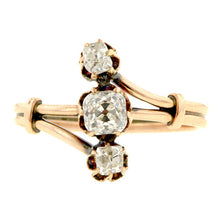 Antique Three Stone Diamond Ring, 0.48ct