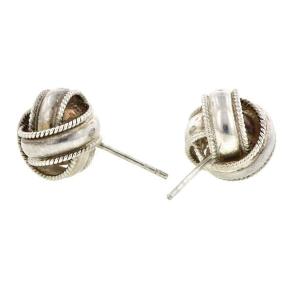Vintage Knot Post Earrings:: Doyle & Doyle