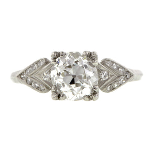 Vintage Diamond Engagement Ring, Old European :: Doyle & Doyle