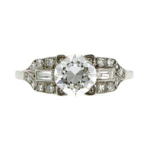 Vintage Engagement Ring, RBC 1.25ct:: Doyle & Doyle