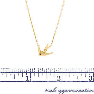 Swallow Necklace- Heirloom by Doyle & Doyle