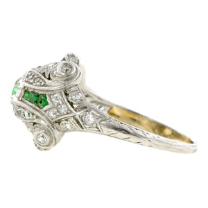 Art Deco Engagement Ring, Old Euro 0.67ct:: Doyle & Doyle
