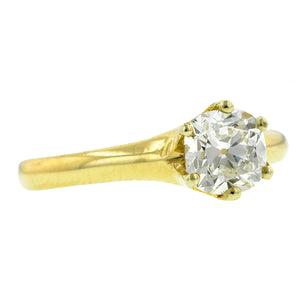 Vintage Diamond Solitaire Engagement Ring; Cushion Brilliant 1.04ct:: Doyle & Doyle