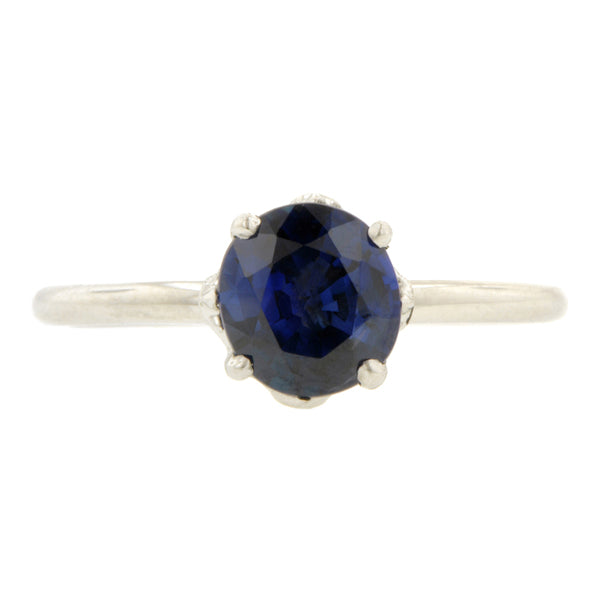 North Star Sapphire Ring, 1.28ct., West 13th Collection::Doyle & Doyle
