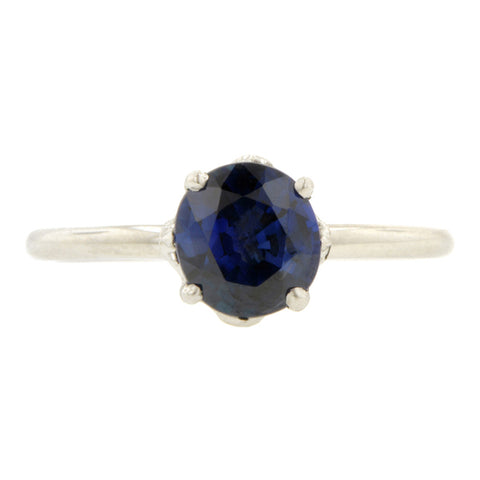 North Star Sapphire Ring, 1.33ct., West 13th Collection