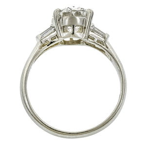 Estate Engagement Ring, Oval 2.07ct: Doyle & Doyle
