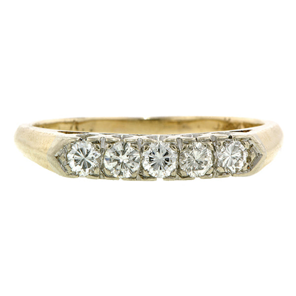 Vintage Diamond Wedding Band Doyle & Doyle