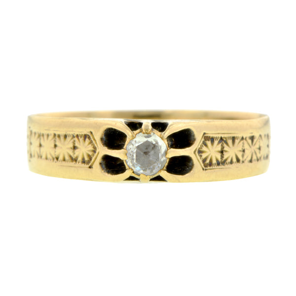 Victorian Rose Cut Diamond Ring::Doyle & Doyle