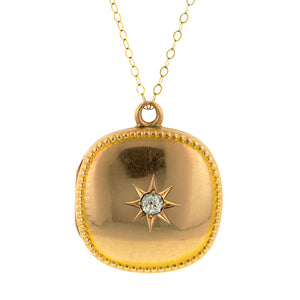 Victorian Diamond Locket