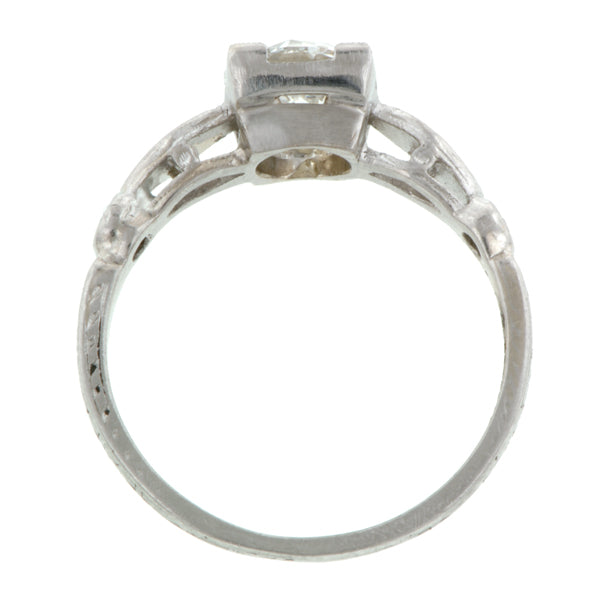 Vintage Engagement Ring, Old Euro 1.08ct:: Doyle & Doyle